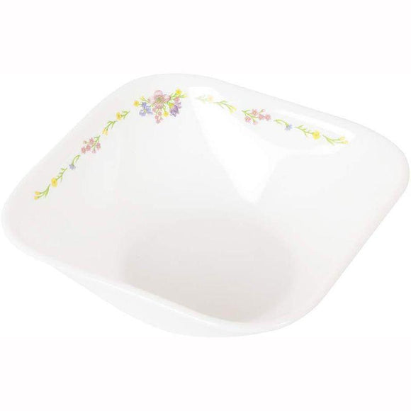 Corelle-4Pcs-Sq.Curry Bowl-Sq.Romantic Floral