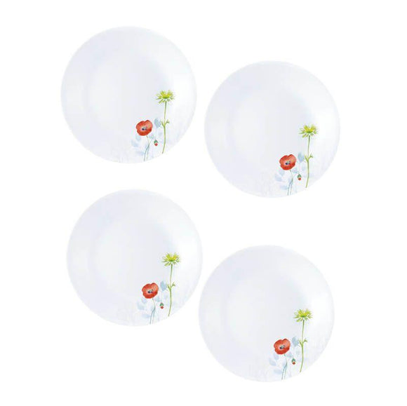 Corelle-4pcs-Small Plate-Daisy Field