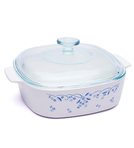 Corningware-2L Covered Casserole-Prov Blue-ES