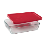 Pyrex-3 CUP/750ML Dish RED