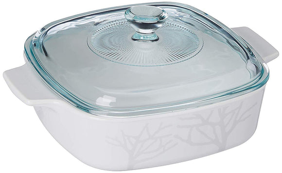 Corningware-1L Covered Cosserole-Frost-GS