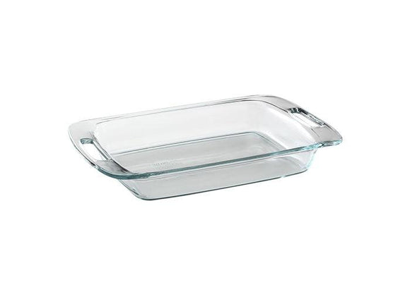 Pyrex-2qt/1.9L Oval Roaster Clear