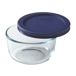 Pyrex-1 CUP/250ml Storage With Blue Lid