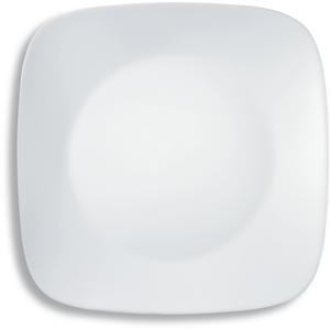 Corelle® Square Round WFW Winter Frost White Square Round Bread & Butter Plate (Single)