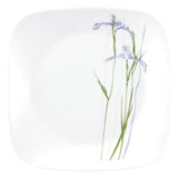 Corelle® Square Round Shadow Iris 6pcs Sq. Medium Plates
