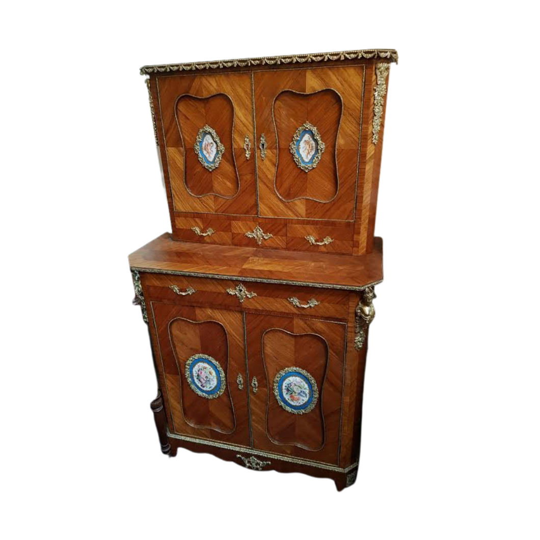 Superb Victorian Secretaries Cabinet