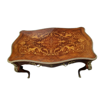 Load image into Gallery viewer, 19th Century Marquetry Buro Play Table