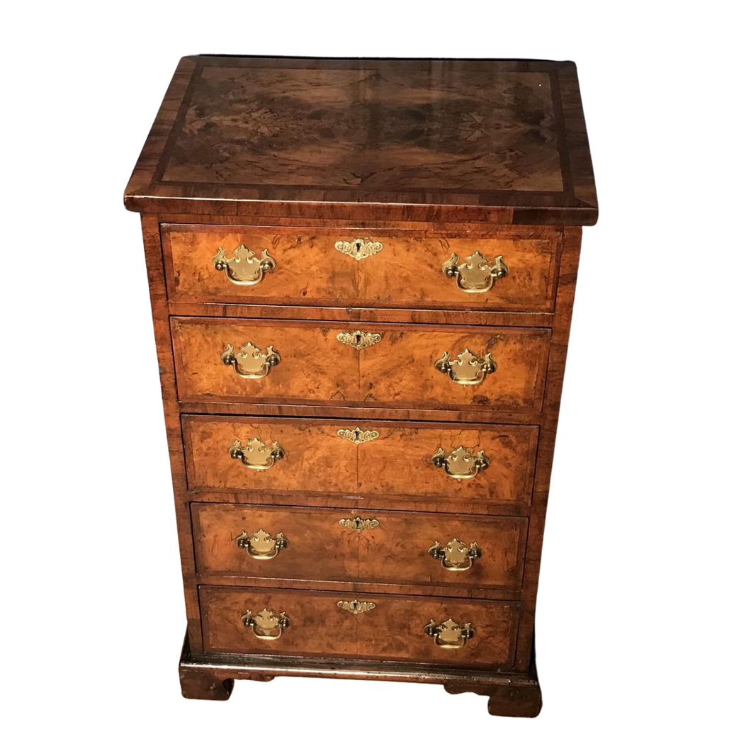 Victorian Burr Walnut chest of drawers