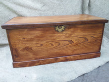 Load image into Gallery viewer, 19th Century Elm Wood Trunk - The Vintage Look Henely