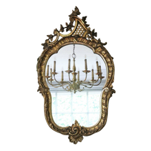 Load image into Gallery viewer, Antique Gilt Mirror