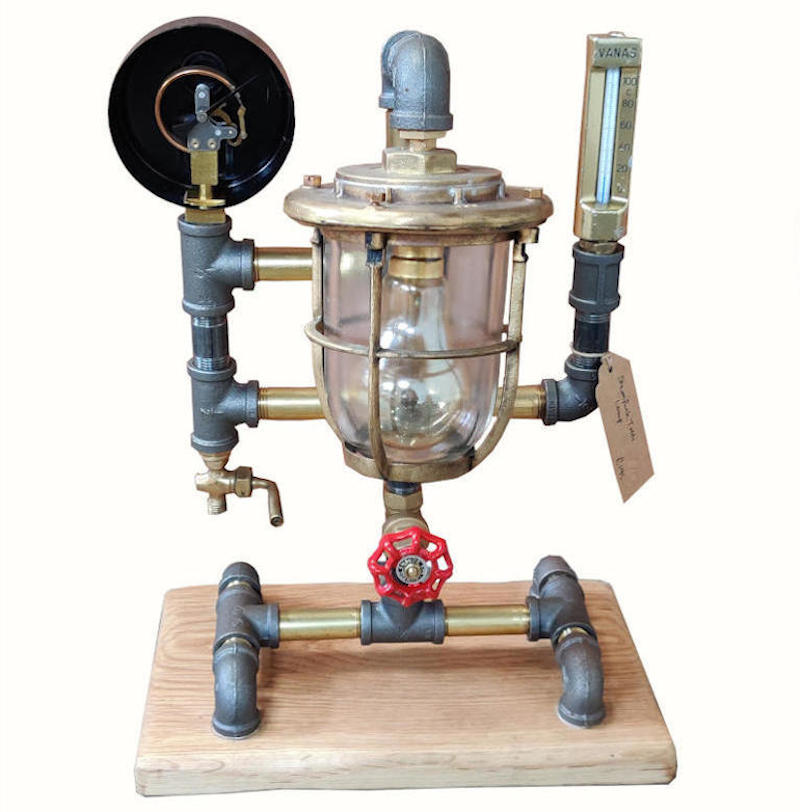 Converted Steam Lamp