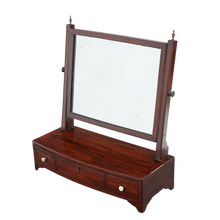 Load image into Gallery viewer, Georgian Mahogany Dressing Swing Mirror