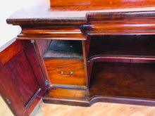 Load image into Gallery viewer, Victorian Antique Mahogany Sideboard
