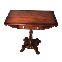 Load image into Gallery viewer, Regency Mahogany Side Table