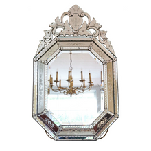 Load image into Gallery viewer, 19th Century Large Venetian Glass Mirror