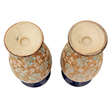 Load image into Gallery viewer, Large Pair of Royal Doulton Slater Vases