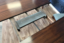 Load image into Gallery viewer, Victorian Walnut 10 Seat Extending Dining Table