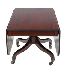 Load image into Gallery viewer,  Cuban mahogany drop leaf dining table