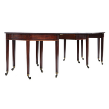Load image into Gallery viewer, Very Large George III ~9' Cuban Mahogany Extending Dining Table