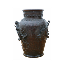 Load image into Gallery viewer, Japanese 19th Century Bronze Vase c1850