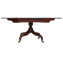 Load image into Gallery viewer, Regency c1825 Cuban Mahogany Drop Leaf Dining Table