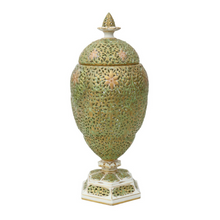 Load image into Gallery viewer, Victorian Graingers Worcester Reticulated Vase