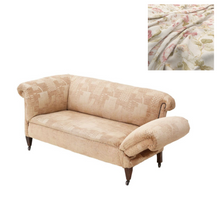 Load image into Gallery viewer, Small Victorian Chesterfield Drop-Arm Sofa c1895