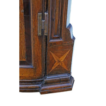 Load image into Gallery viewer, Georgian Inlaid Crossbanded Oak Corner Cupboard Cabinet c1760