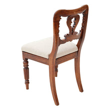 Load image into Gallery viewer, Set of 6 William IV Carved Mahogany Dining Chairs c1830