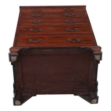 Load image into Gallery viewer, Georgian Narrow Mahogany Chest of Drawers