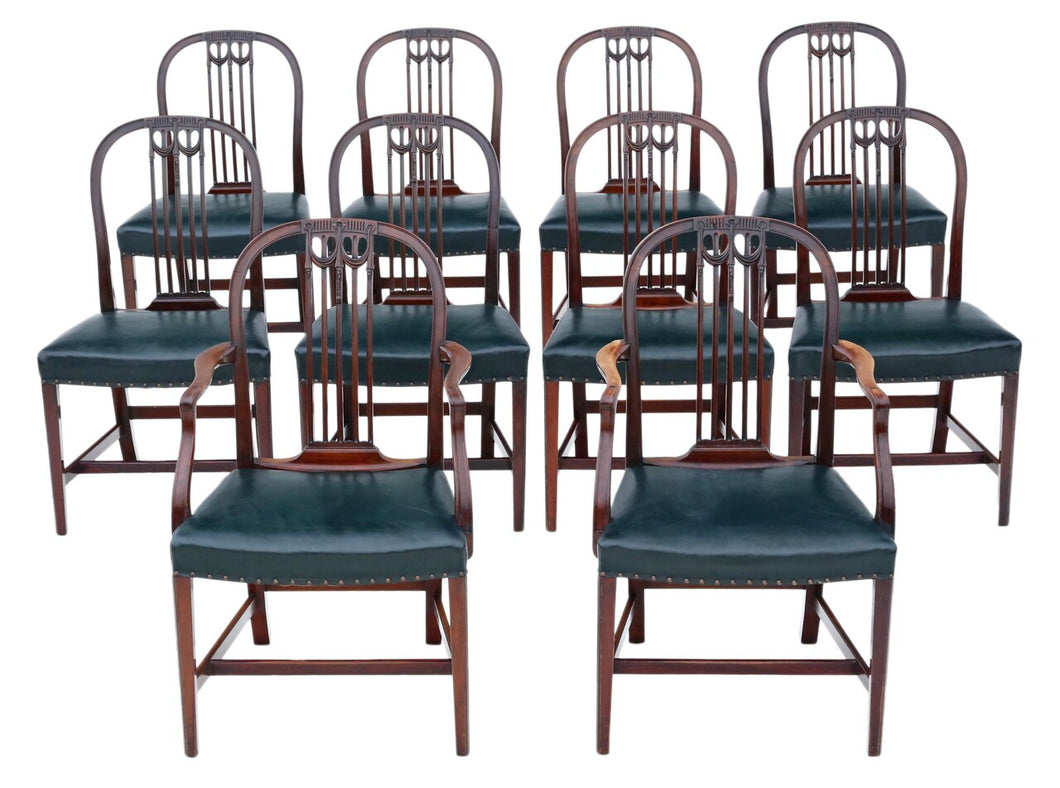 19th Century Mahogany Dining Chairs