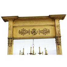 Load image into Gallery viewer, Large 19th Century Gilt Pier Wall Mirror
