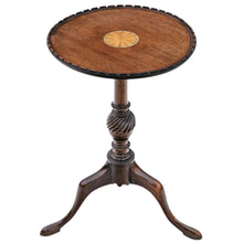 Load image into Gallery viewer, Georgian Revival Inlaid Mahogany Wine Table