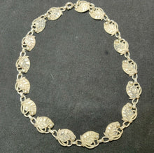 Load image into Gallery viewer, Intricate Continental Silver Necklace