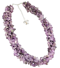 Load image into Gallery viewer, Amethyst 925 Silver Necklace
