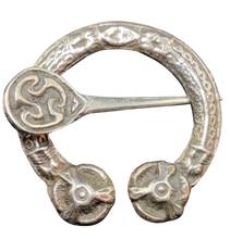 Load image into Gallery viewer, Early Scottish Silver Penannular Brooch