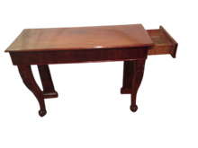 Load image into Gallery viewer, Regency Mahogany Console Table