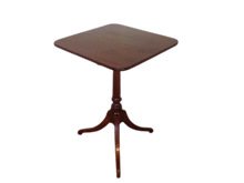 Load image into Gallery viewer, Georgian Mahogany Tilt Top Wine/ Occasional Table
