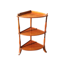 Load image into Gallery viewer, Victorian Mahogany Whatnot /Shelf Corner Table