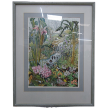 Load image into Gallery viewer, Butterfly Farm Watercolour Painting  By Sheilagh Calder