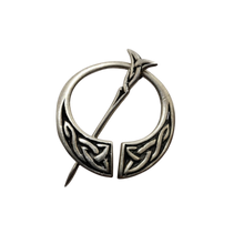Load image into Gallery viewer, John Hart IONA Silver Penannular Brooch