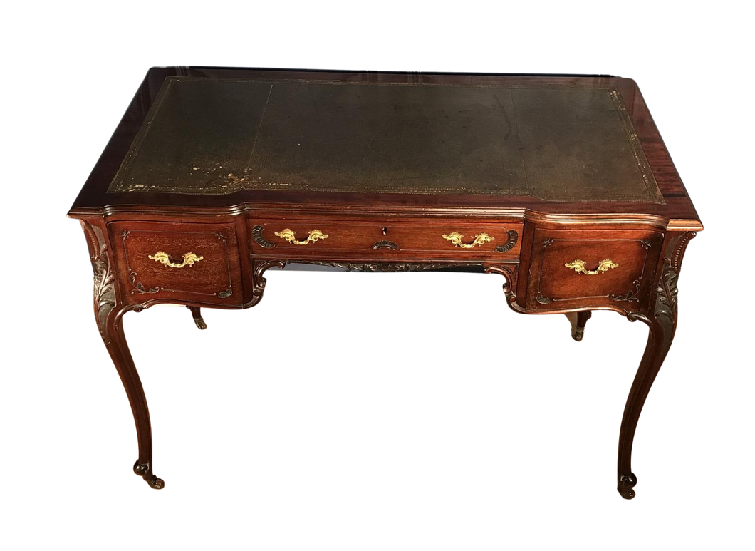 Victorian Mahogany French Style Desk