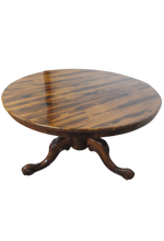 Load image into Gallery viewer, Victorian Rosewood Circular Table