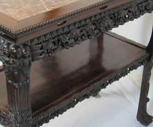 Load image into Gallery viewer, Chinese Carved Console Table c1870