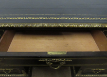 Load image into Gallery viewer, 19th Century Ebonised Ormolu Mounted Desk