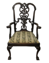 Load image into Gallery viewer, 19th Century Chippendale Desk Chair