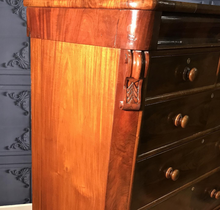 Load image into Gallery viewer, Victorian Mahogany Chest of Drawers