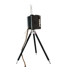 Load image into Gallery viewer, Converted 1950s Camera Tripod Light