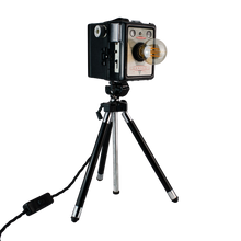 Load image into Gallery viewer, Converted 1950s Tripod Camera Light