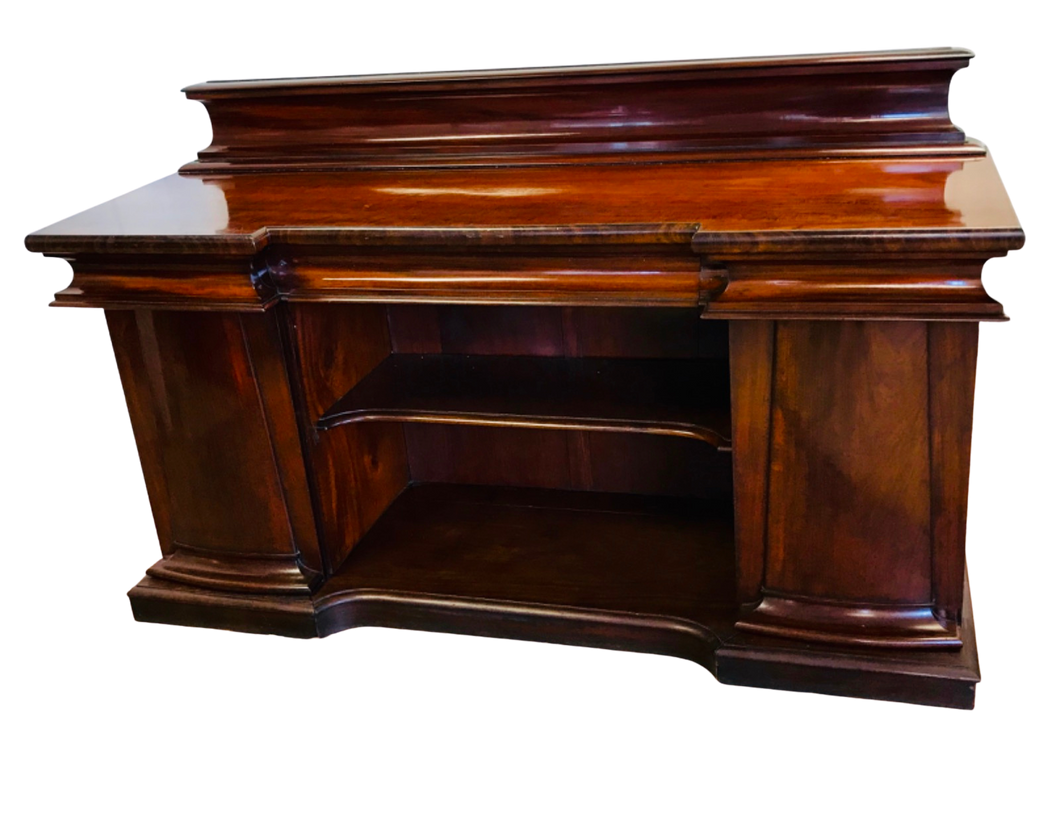 Victorian Antique Mahogany Sideboard